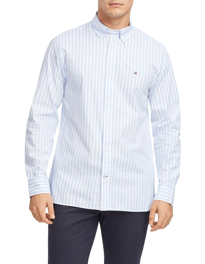 Wcc Textured Stripe Long Sleeve Shirt image 1