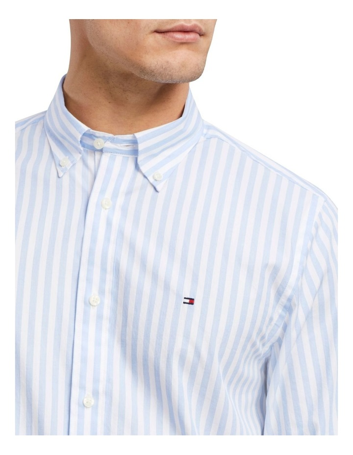 Wcc Textured Stripe Long Sleeve Shirt image 3