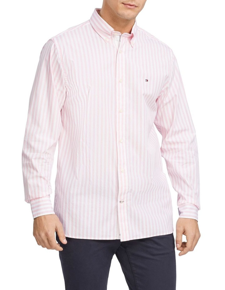 Wcc Textured Stripe Long Sleeve Shirt image 1