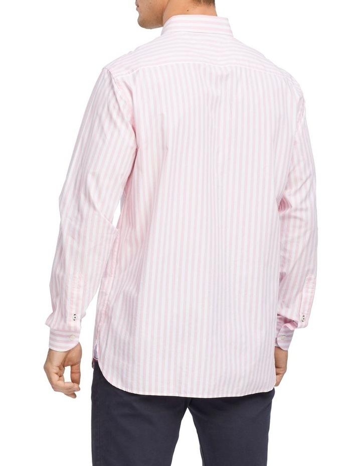 Wcc Textured Stripe Long Sleeve Shirt image 2