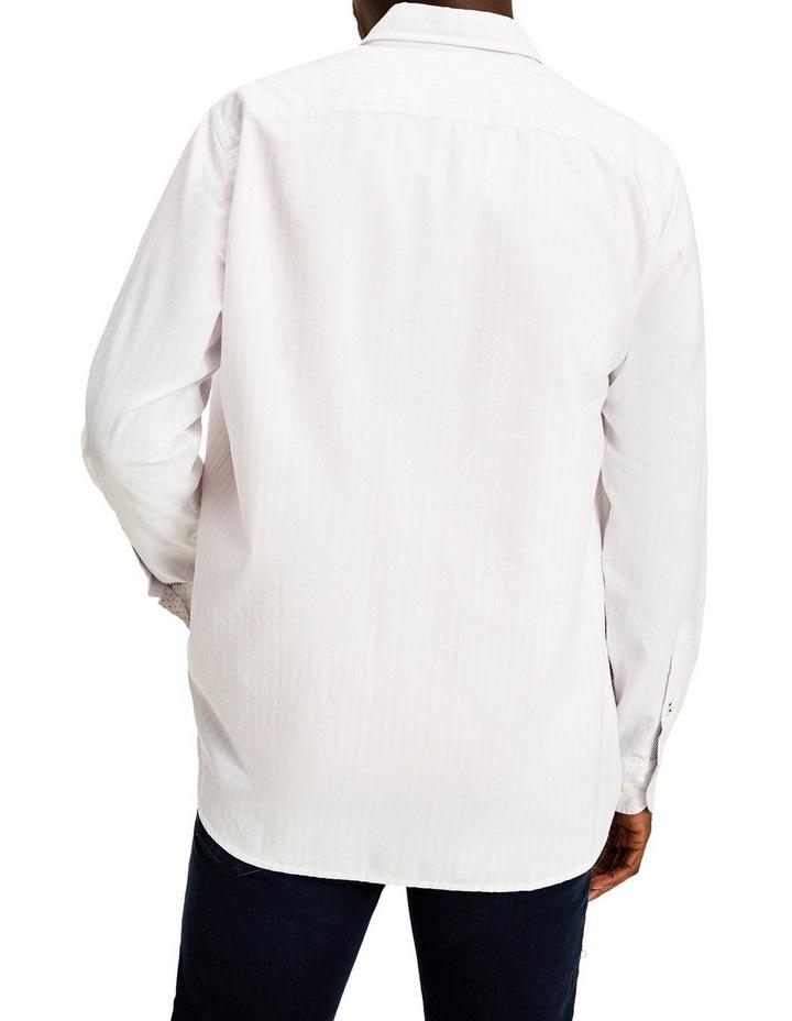 Oxford Stripe Long Sleeve Shirt image 2