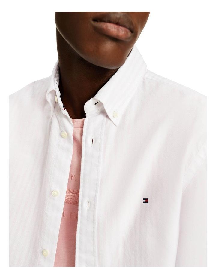 Oxford Stripe Long Sleeve Shirt image 3