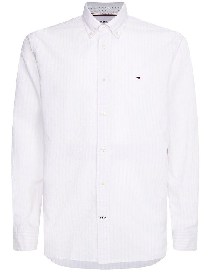 Oxford Stripe Long Sleeve Shirt image 4