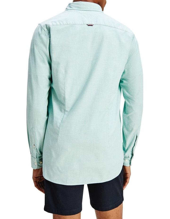 Slim Flex Dobby Long Sleeve Shirt image 2