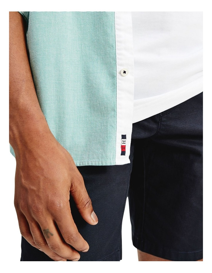 Slim Flex Dobby Long Sleeve Shirt image 3