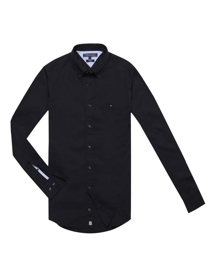 Stretch Slim Poplin Shirt image 4