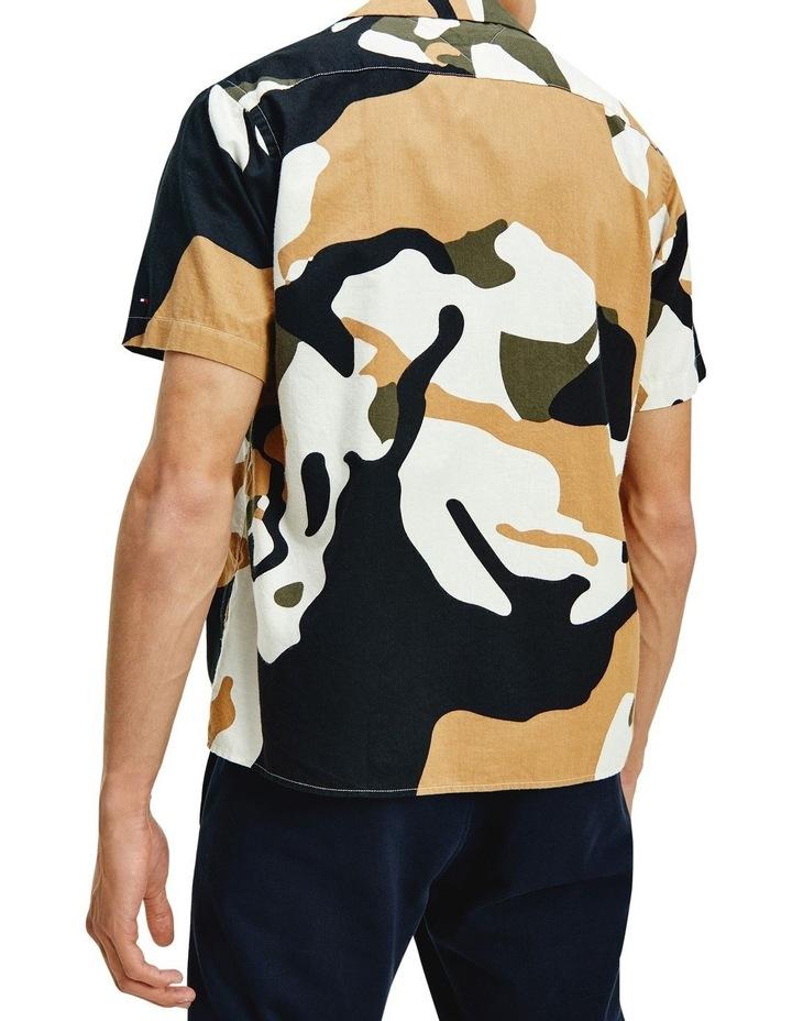 Carbon Floral Camo Print Shirt image 2