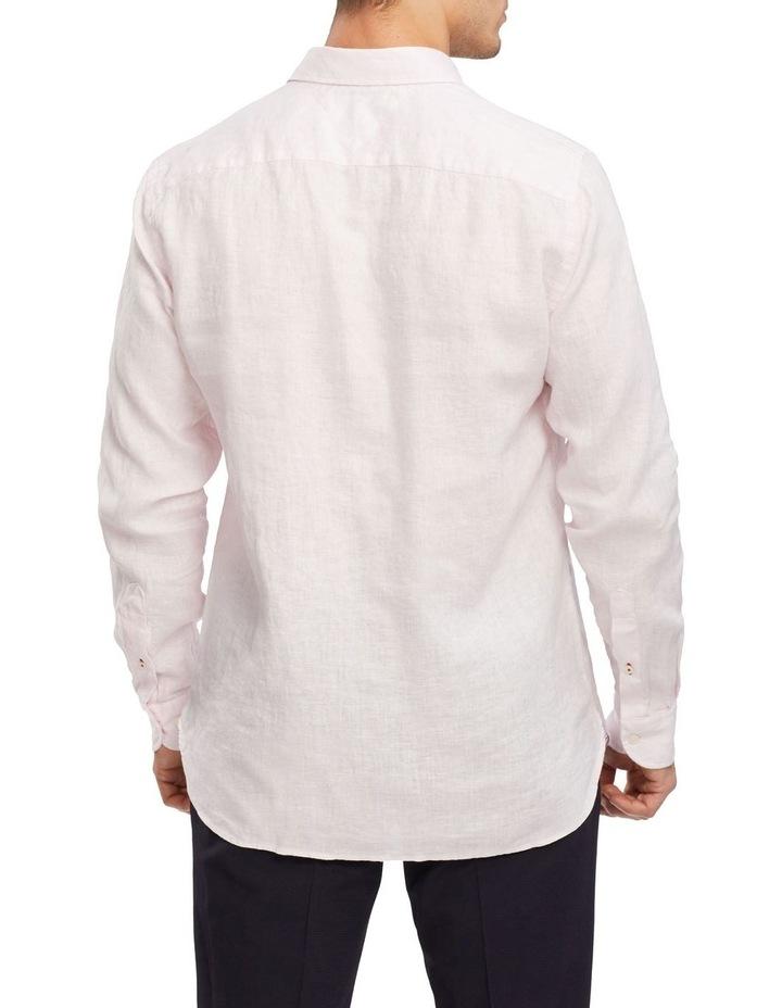 Premium Linen Shirt Pink image 2