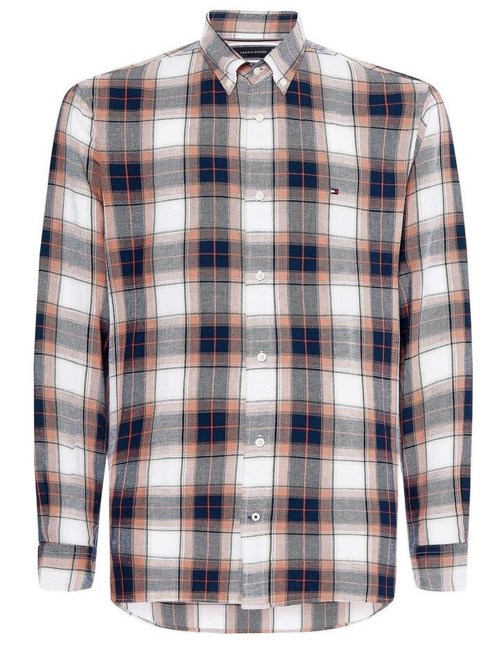 Cotton Linen Midscale Check Shirt image 2