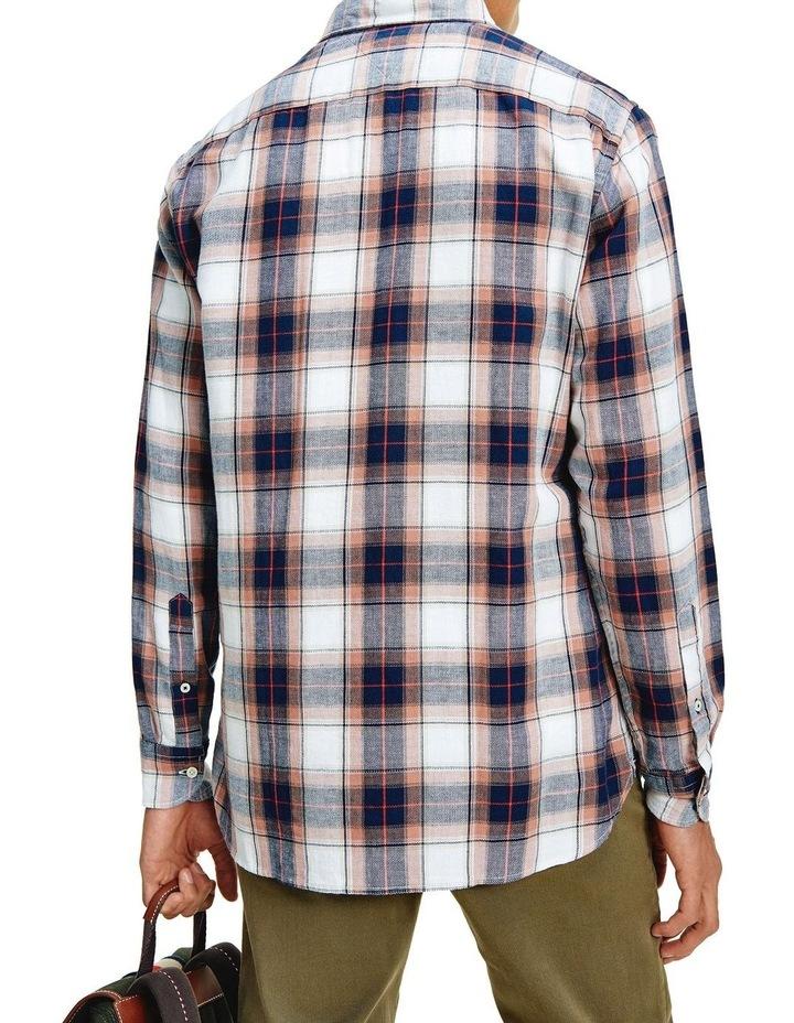 Cotton Linen Midscale Check Shirt image 3