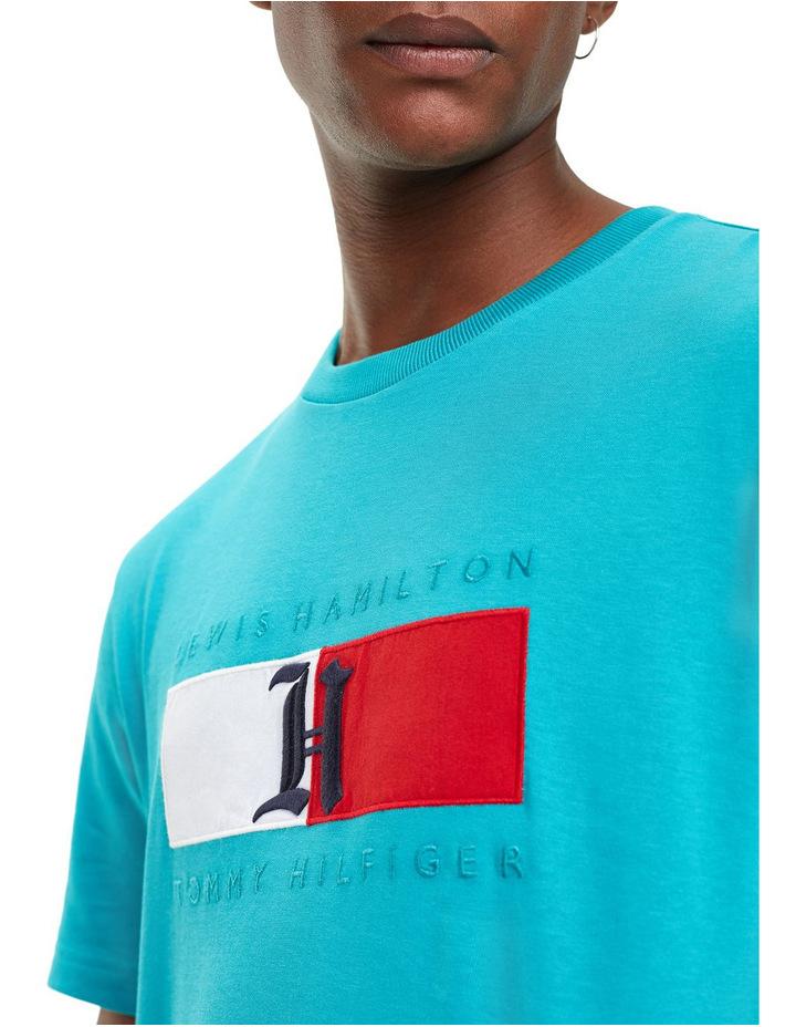 Lewis Hamilton Logo T-Shirt image 3