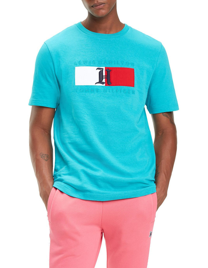 Lewis Hamilton Logo T-Shirt image 4
