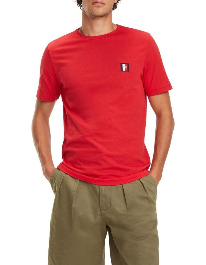 Monogram Patch Cotton T-Shirt image 1