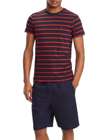 59623e0dee Tommy HilfigerStretch Slim Fit Tee