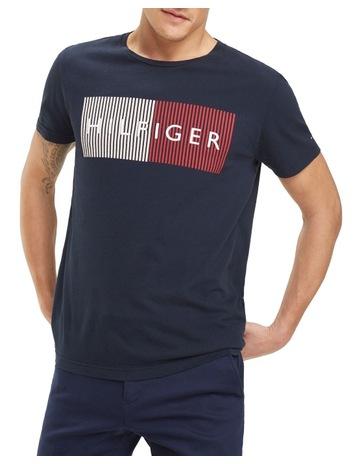 Tommy Hilfiger Navy Core Poplin Shirt Tommy Hilfiger