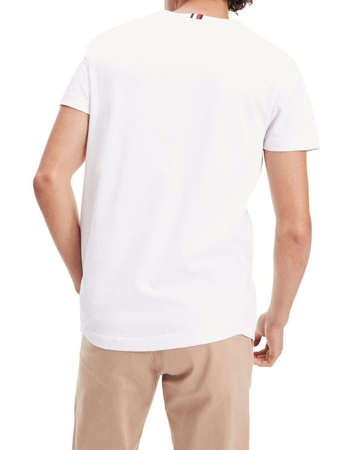 Organic Cotton Crest Embroidery T-Shirt image 3