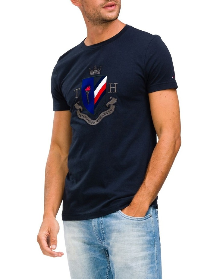 Crest Embroidery Tee image 1