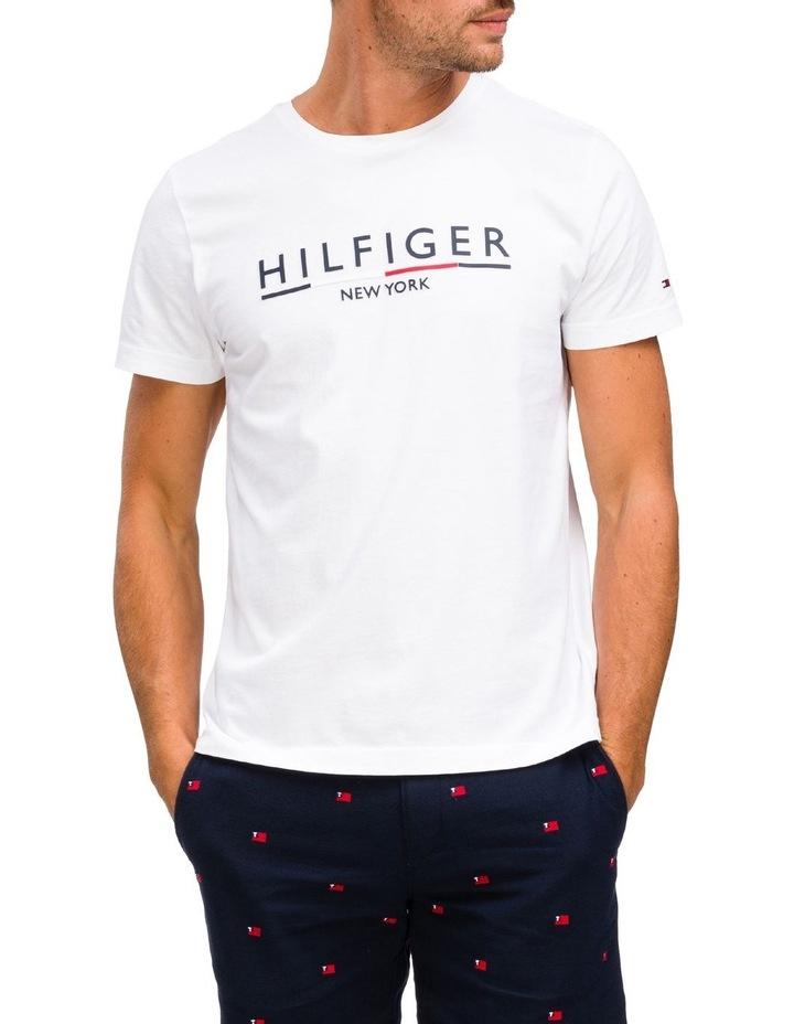 Regular Fit Organic Cotton Underline T-Shirt image 1