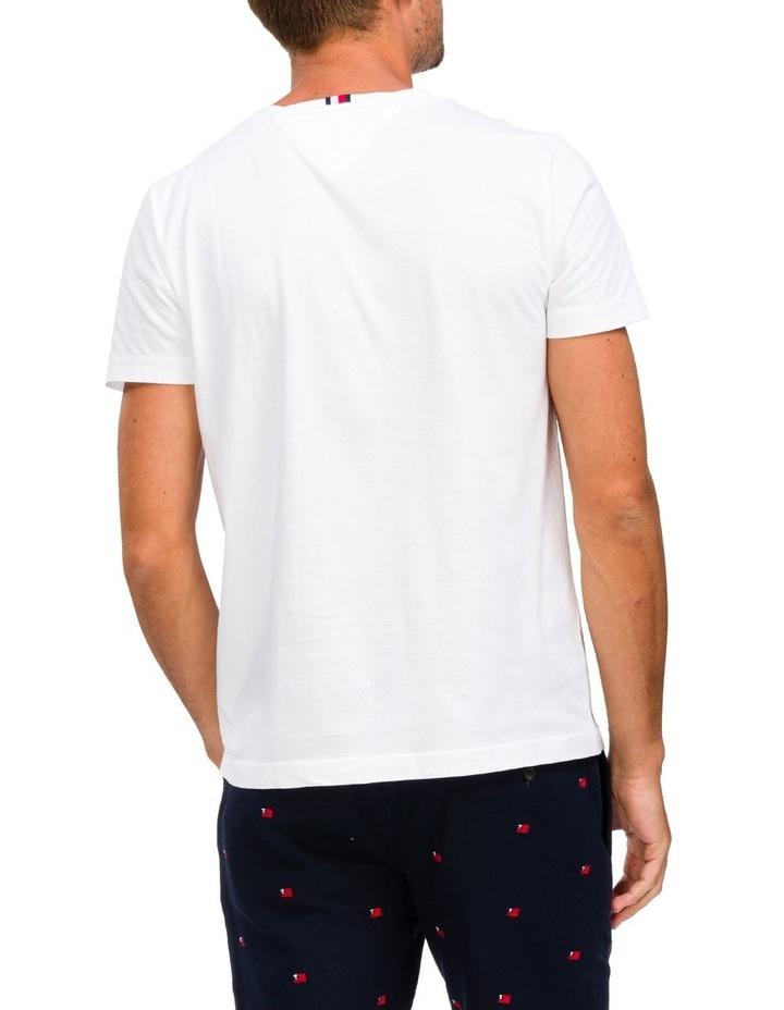 Regular Fit Organic Cotton Underline T-Shirt image 2