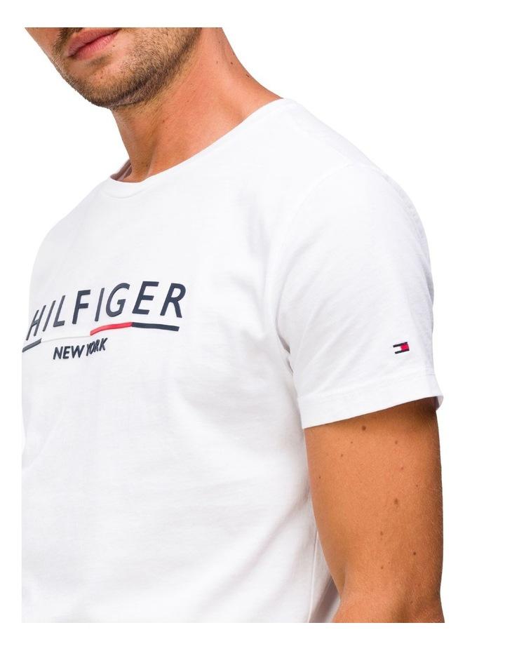 Regular Fit Organic Cotton Underline T-Shirt image 3