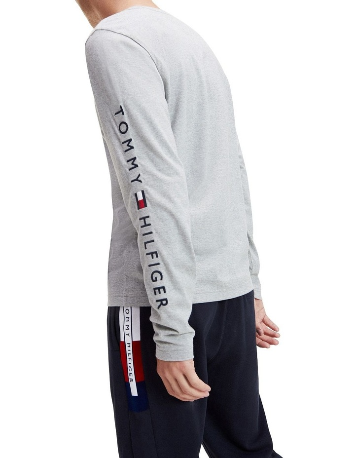 Tommy Logo Long Sleeve Tee image 2