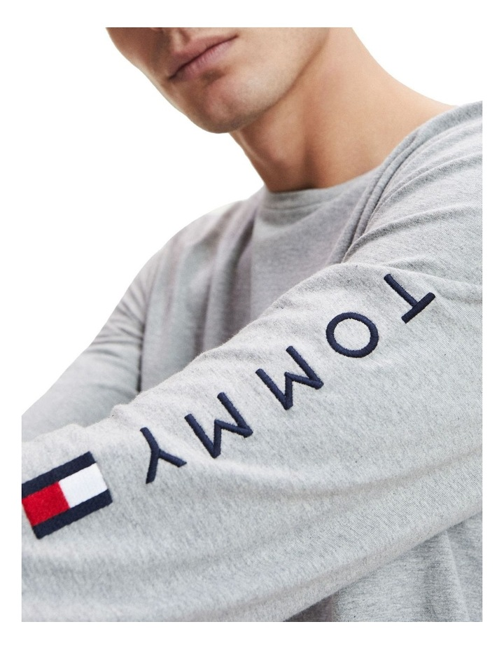 Tommy Logo Long Sleeve Tee image 3