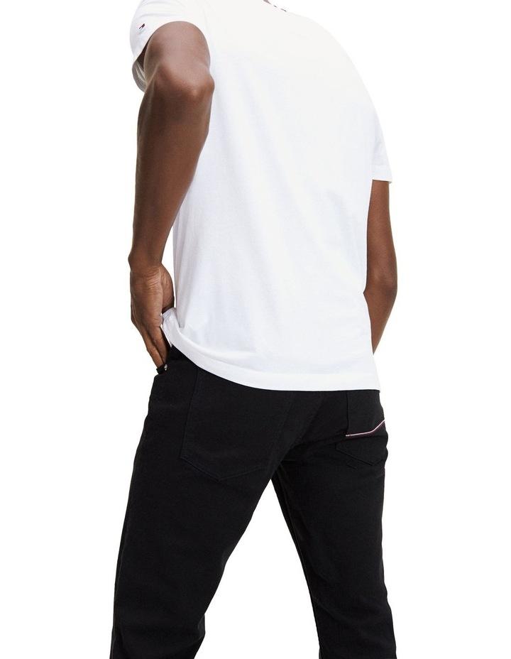 Logo Stripe Organic Cotton T-Shirt image 3
