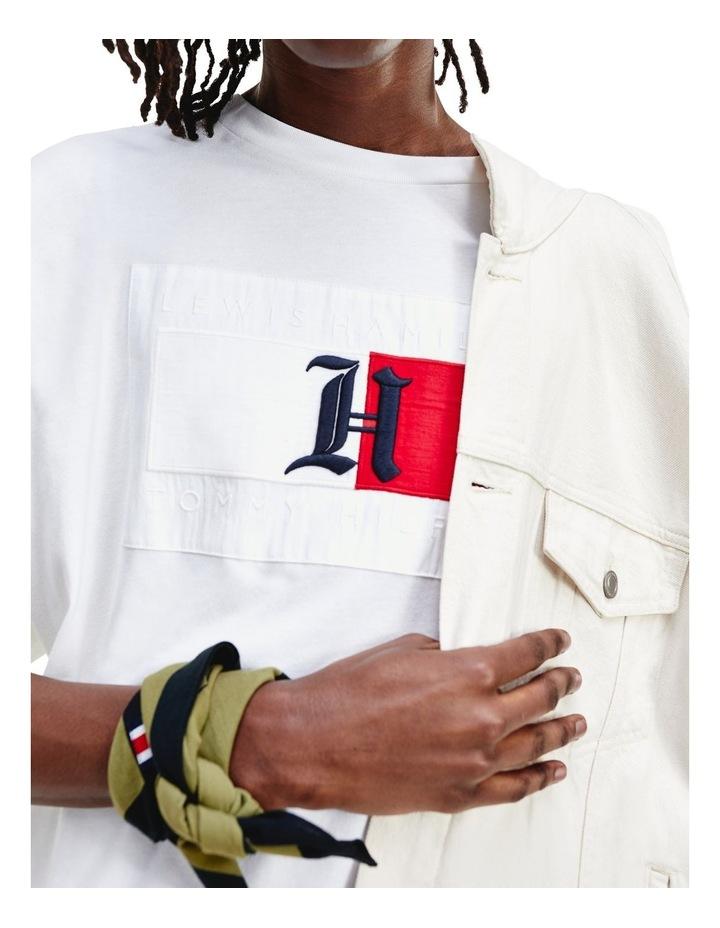 Lewis Hamilton Oversized Red Logo Tee image 3