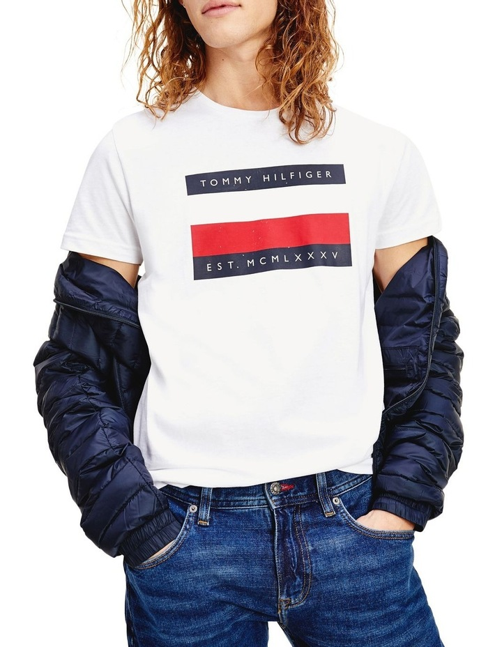 Corp Stripe Box Tee image 1