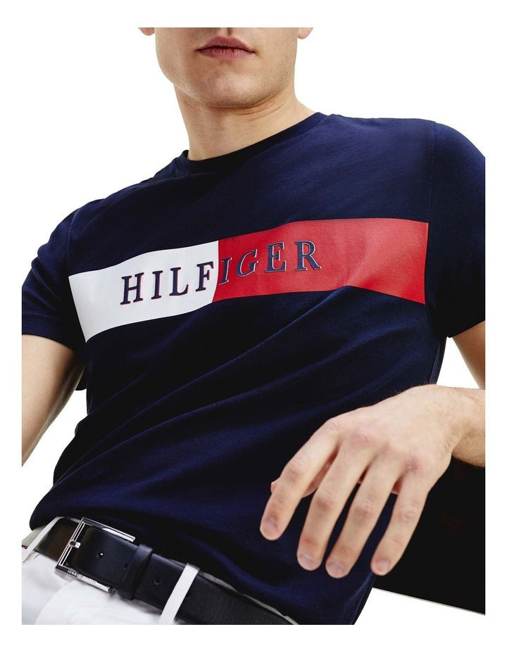Intarsia Logo Regular Fit T-Shirt image 5