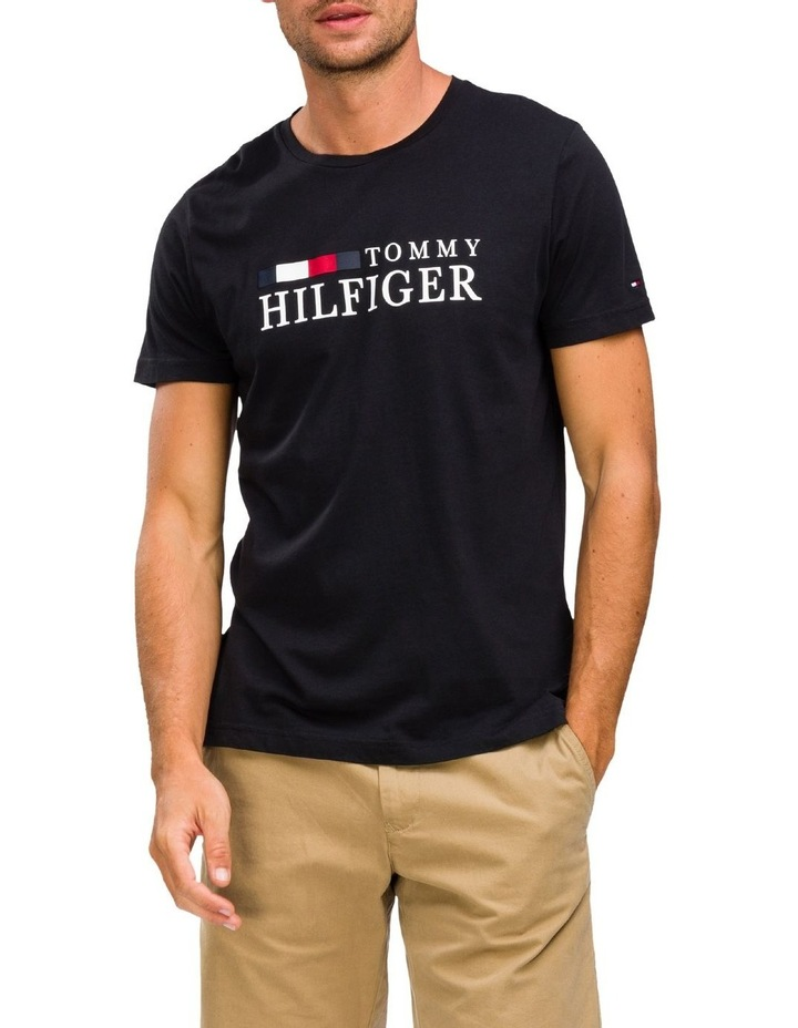 Regular Fit Organic Cotton Logo T-Shirt image 1