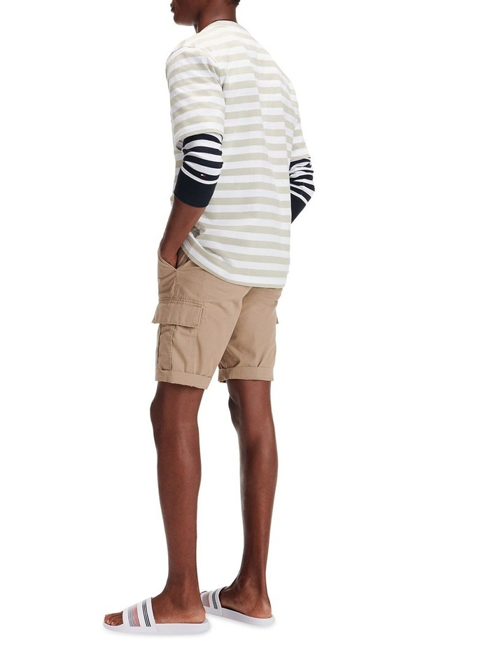 Signature Stripe Relaxed Fit Tee image 1