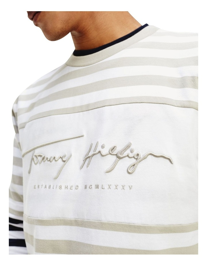 Signature Stripe Relaxed Fit Tee image 2