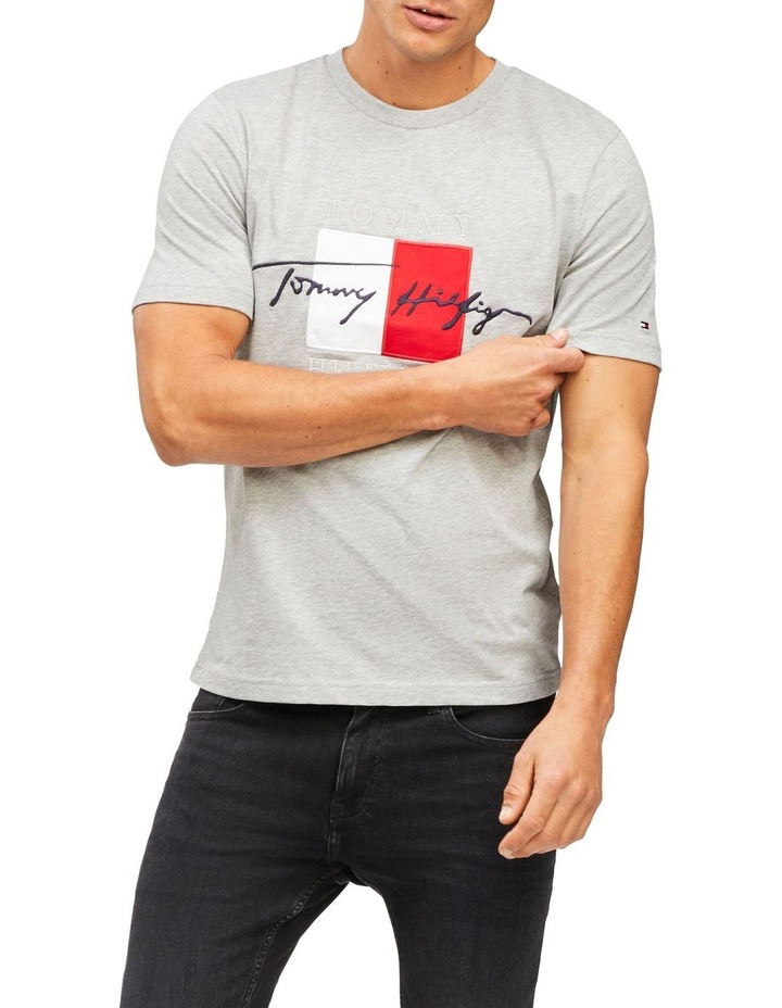 Box Signature Relaxed Fit Tee image 1