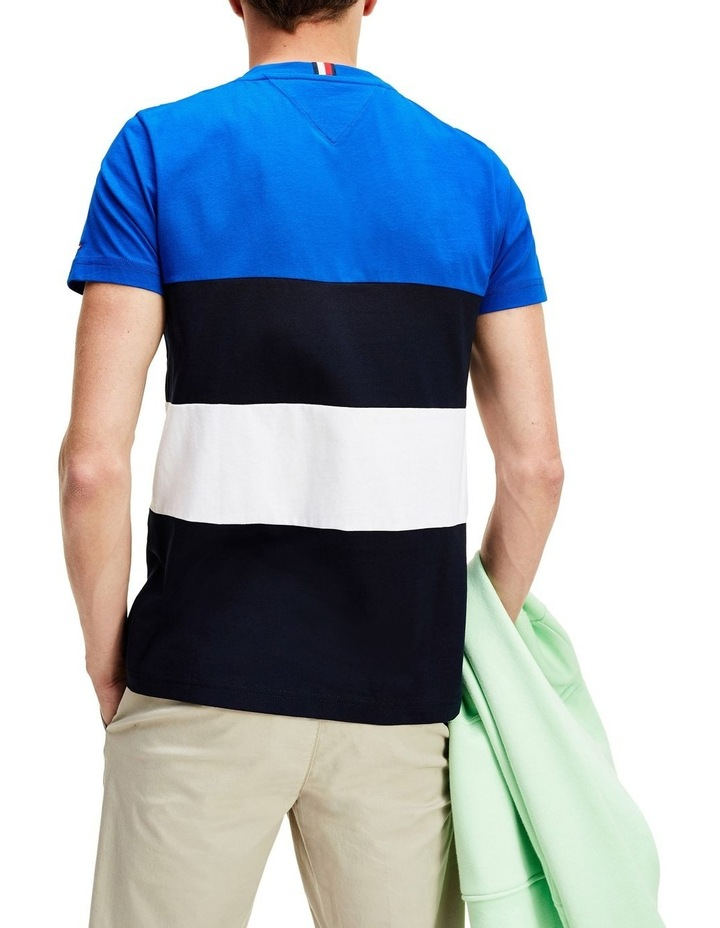 Striped Color Block Tee image 2