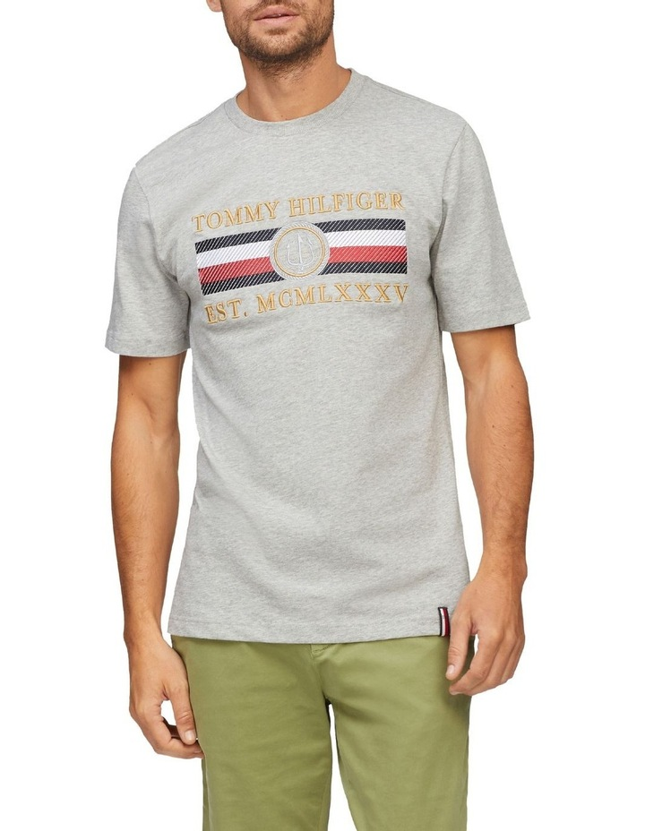 Icon Stripe Relaxed Fit Tee image 1