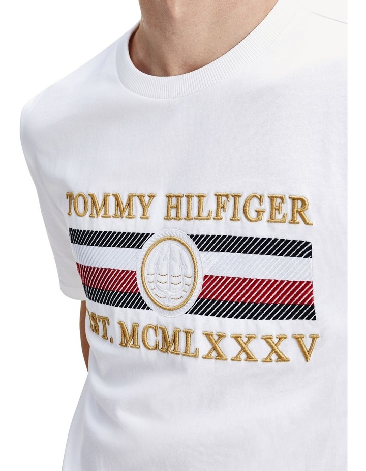 Icon Stripe Relaxed Fit Tee image 3