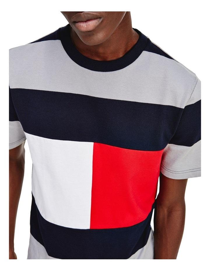 Fashion Block Stripe Tee image 3