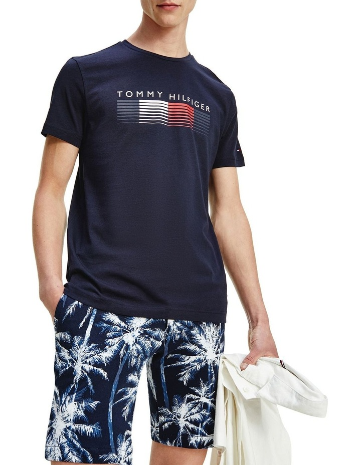 Fade Graphic Corp Tee Navy image 1