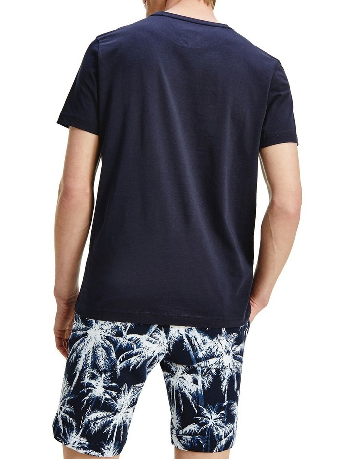 Fade Graphic Corp Tee Navy image 2