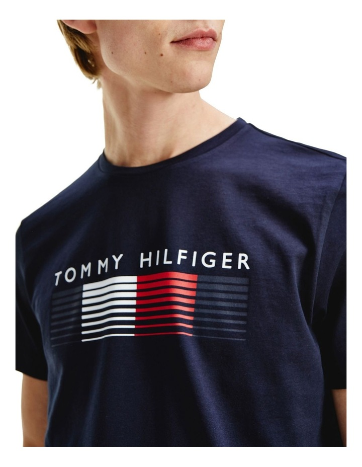 Fade Graphic Corp Tee Navy image 3
