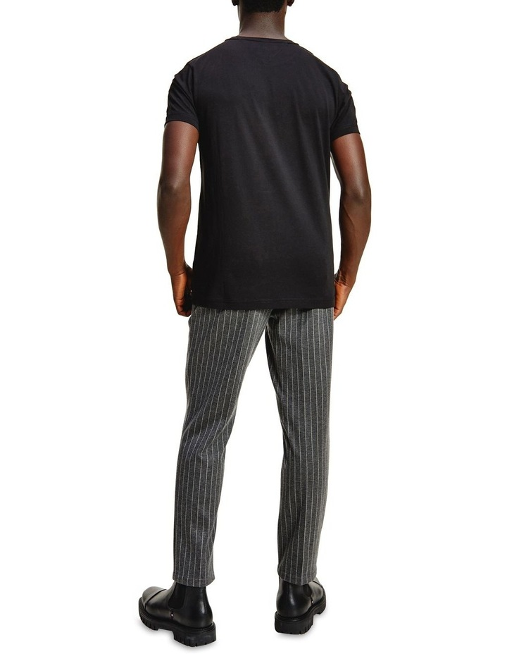 Corp Stripe Tee  Black image 2