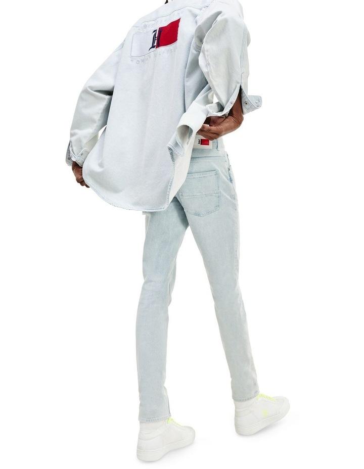 Lewis Hamilton Slim Bleach Wash Denim Jeans image 2