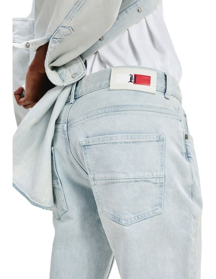Lewis Hamilton Slim Bleach Wash Denim Jeans image 3