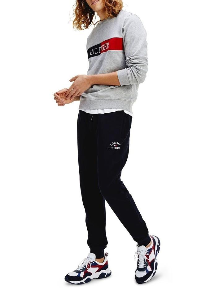 Basic Embroidered Trackpants image 4