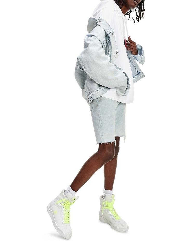 Lewis Hamilton Slim Bleach Wash Denim Short image 3