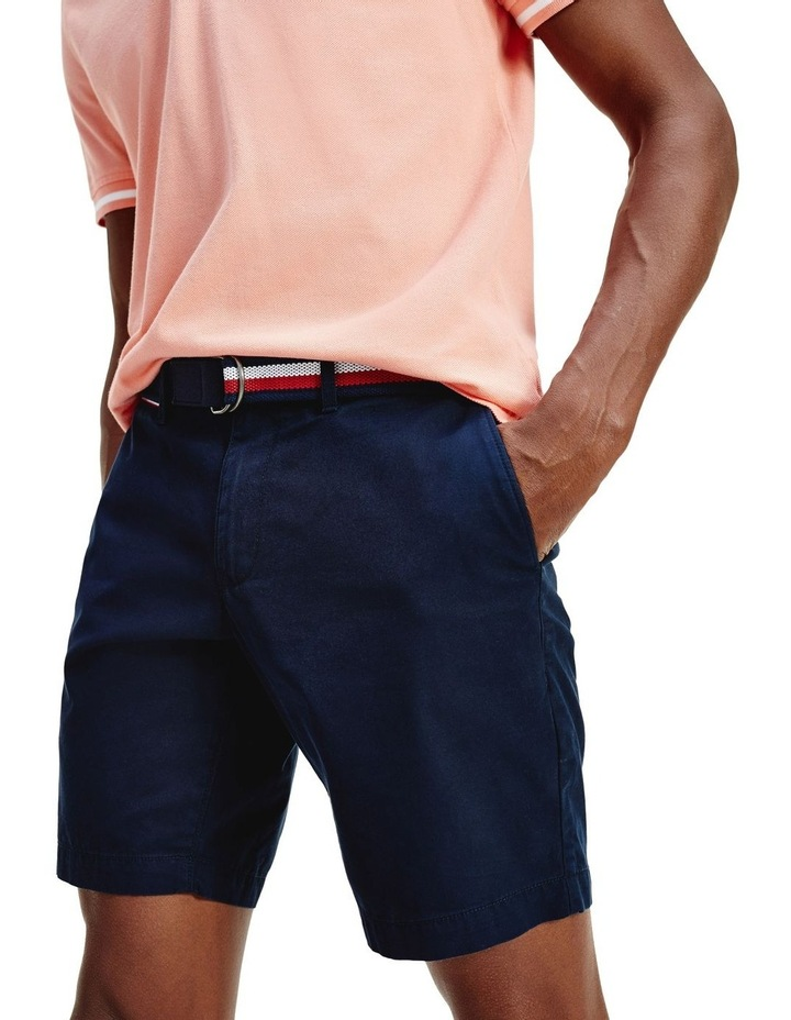 Light Twill Brooklyn Short with Belt image 1