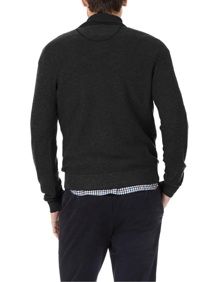 Merino / Cotton 1/2 Zip Knit image 3