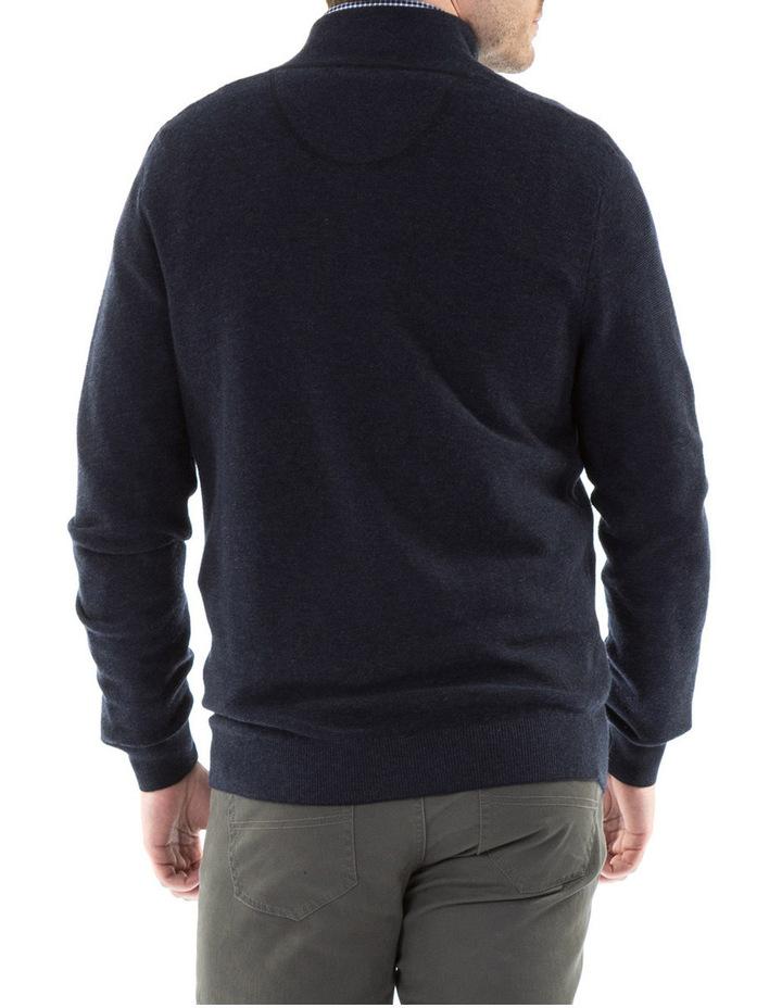Merino/Cotton 1/2 Zip Knit image 3