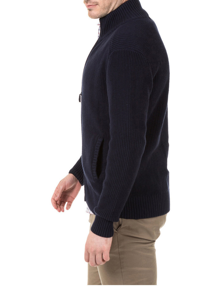 Clark Full Zip Cotton Sweater image 2